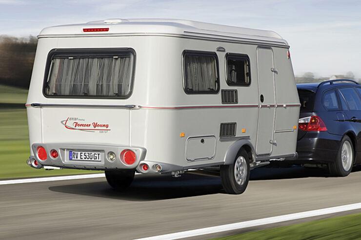 "car/ Hymer präsentiert Jubiläums-Caravan ""Forever Young"" auf der CMT"