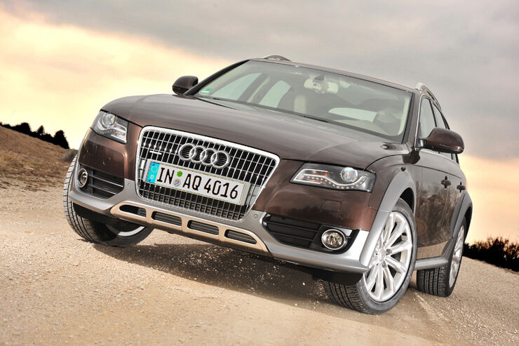 test audi a4 allroad quattro als zugfahrzeug caravaning. Black Bedroom Furniture Sets. Home Design Ideas